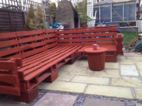 pallet outdoor sofa pallet ideas gardens be cool and