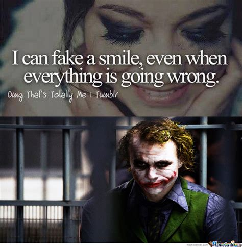 Fake Smile Meme - i can fake a smile by shinook97 meme center