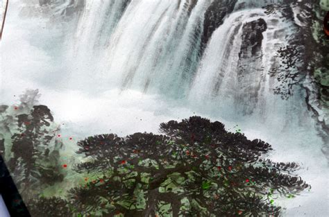domain images waterfall illustration a free stock photo