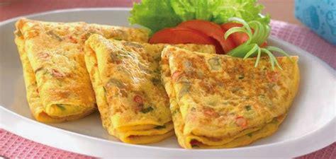 resep spesial telur dadar lauk enak siap  santap