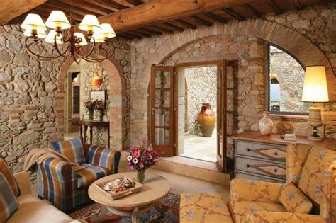 tuscan living pinterest
