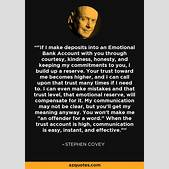 Stephen Covey q...