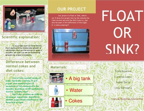 sink or float science fair project float or sink
