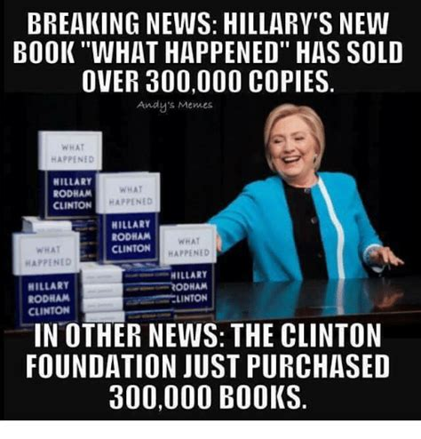 hillary clinton pictures videos breaking news breaking news hillary s new bookwhat happened has sold