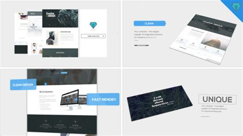Website Promo Corporate After Effects Templates F5 Design Com Website Promo After Effects Template Free