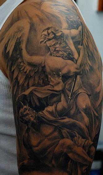 god vs devil tattoo designs vs tattoos that looks cool