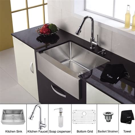 soap dispensers for kitchen sinks stainless steel kitchen sink combination kraususa