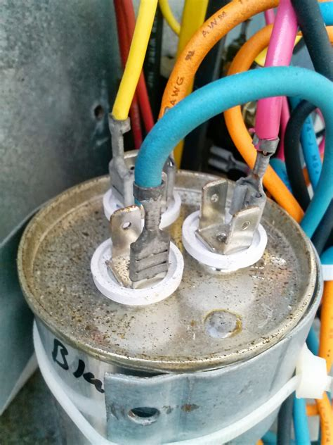 how to wire a capacitor to an ac unit central ac not cooling planet hernando diy projects