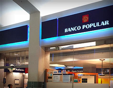 banco popular banking banco popular galeria paseos