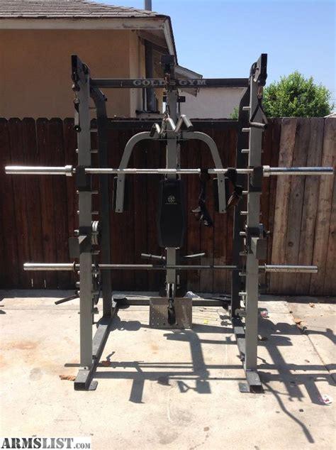golds gym bench press set armslist for sale golds gym set