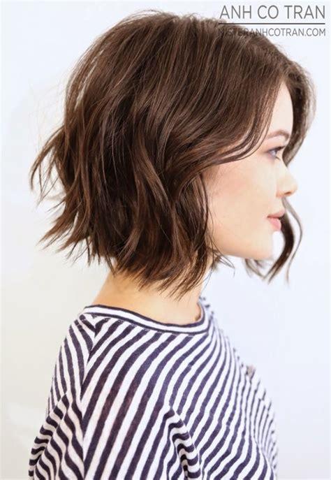 choppy hair cut side view 21 adorable choppy bob hairstyles for women 2016