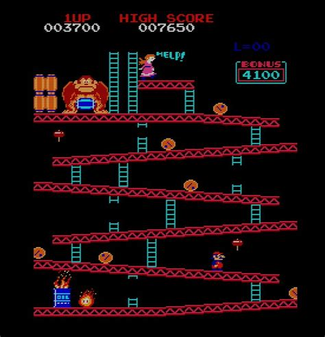 Free Online Arcade Games play donkey kong online