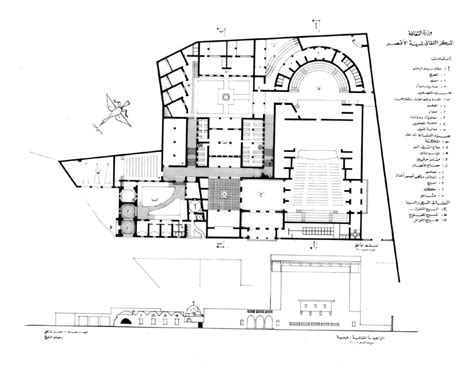 cultural center floor plan cultural centre of garagus design drawing ground floor
