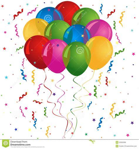 imagenes de cumpleaños con globos globos para el cumplea 241 os o el partido fotos de archivo