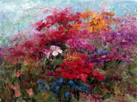 abstract garden eric wallis florals from 2012
