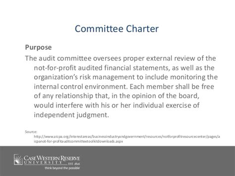 202 Committee Governance Leading Engaged And Effective Compliance Audit Charter Template