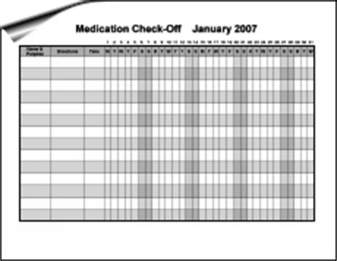 monthly medication administration record template 10 best images of monthly medication chart free
