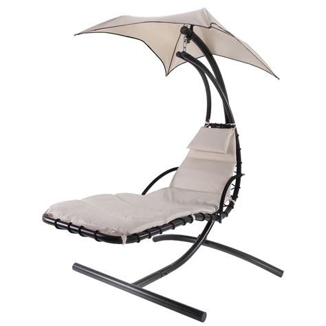 hanging chaise lounge chair palm springs outdoor hanging chair recliner swing air