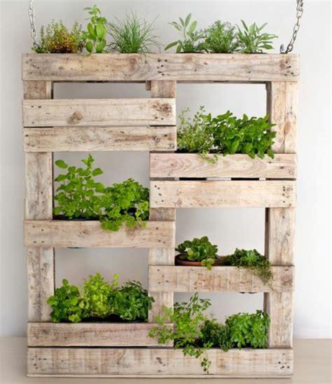 Fabriquer Mur Vegetal by 1001 Id 233 Es Pour La Construction D Un Mur V 233 G 233 Tal En Palette