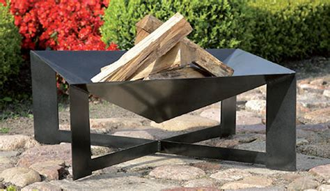 outdoor garden fire bowl large fire pit patio heater