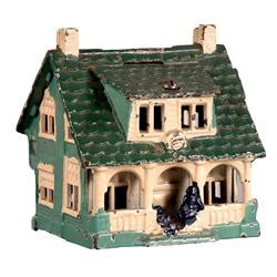 Cottage Cast by Cast Iron Cottage Still Bank