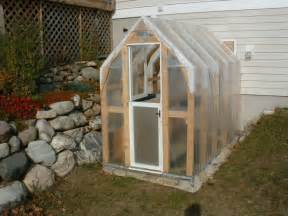 how to make your house green makeshift greenhouse erin covert hands on