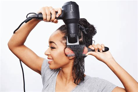 how to section your hair for blow drying the mistake using a comb attachment on your hair dryer