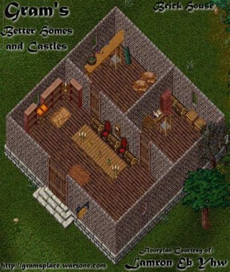Building A House Online Uo Stratics Better Homes And Castles Large Brick House