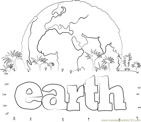 dot to dot printables earth day earth dot to dot printable worksheet connect the dots