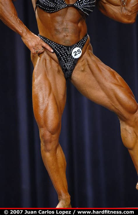 Heavy Light Michelle Brent Finals 2007 Ifbb North American
