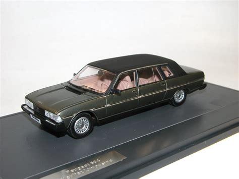 peugeot 1980 models matrix scale models 1980 peugeot 604 heuliez limousine