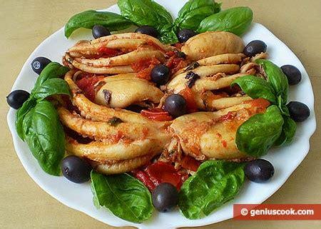 come cucinare i polpi piccoli polpi moscardini affogati alimentazione dietetica