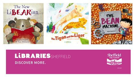 the new libearian books libraries sheffield sheffield children s book awards 2017