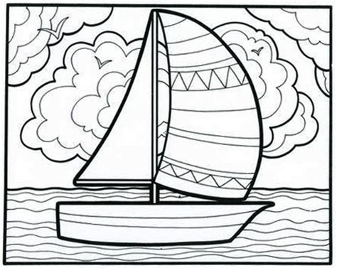 coloring book for relaxation sailing ships books it s a smoooooth sailboat coloring book page from our