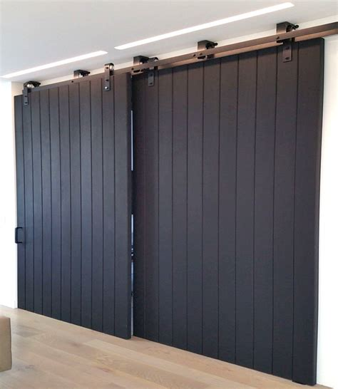 Insulated Barn Doors Wood Door Non Warping Patented Honeycomb Panels And Door Cores