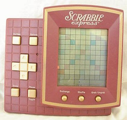 digital scrabble scrabble handheld hasbro electronic scrabble