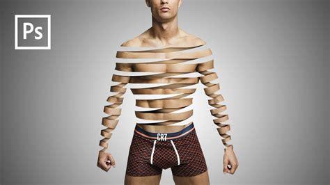 tutorial manipulasi photoshop indonesia cara edit foto manipulasi tubuh terpotong dengan photoshop