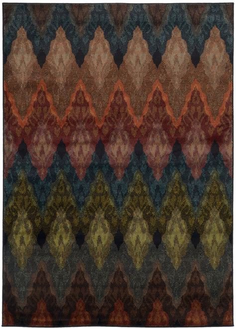 multi color chevron rug multi color wavy pattern area rug woodwaves