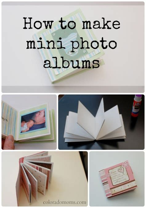 minimalism diy photo album small mini photo albums are the way to store memories in