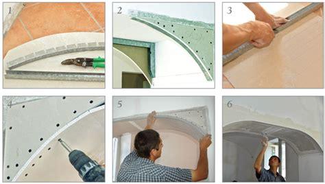Archi In Muratura Per Interni by Arco In Cartongesso Come Realizzare L Orditura