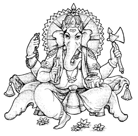 cute ganesha coloring pages free coloring pages of ganesha