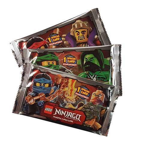 Lego Shop Gift Card - lego ninjago trading cards booster pack x1 the minifigure store