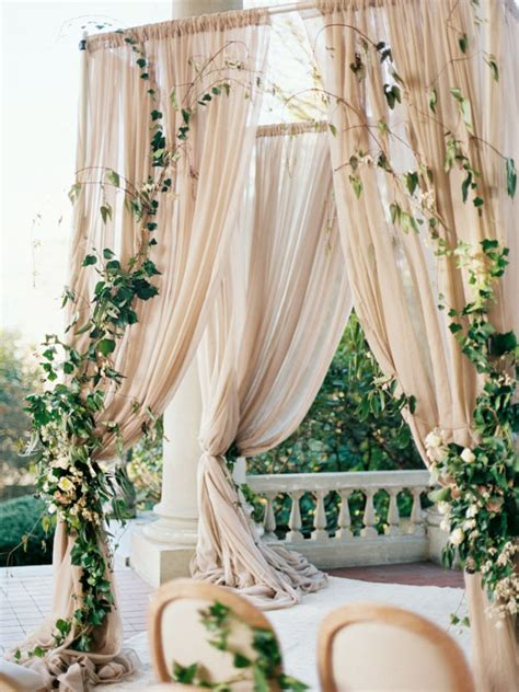 Wedding Arch With Drapes by 20 Draped Ceremony Arches Southbound