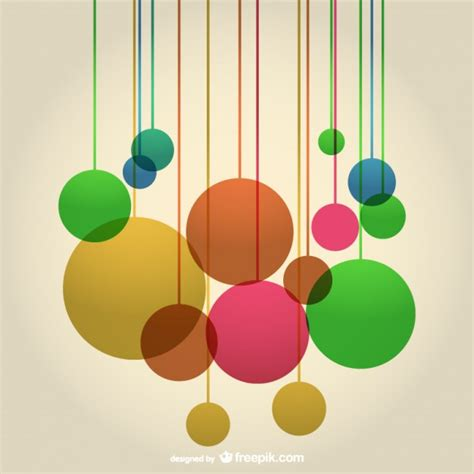 design background shape abstract round shapes composition background vector free