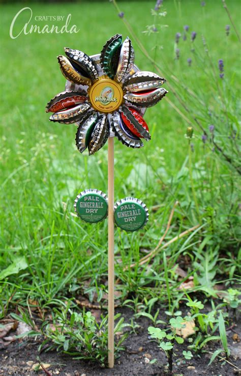 Recycle A Bottlecap Add A Pearl End Up With A Stunning Pin Fashiontribes Fashion by 11 Interesting Ideas For Garden Decorations