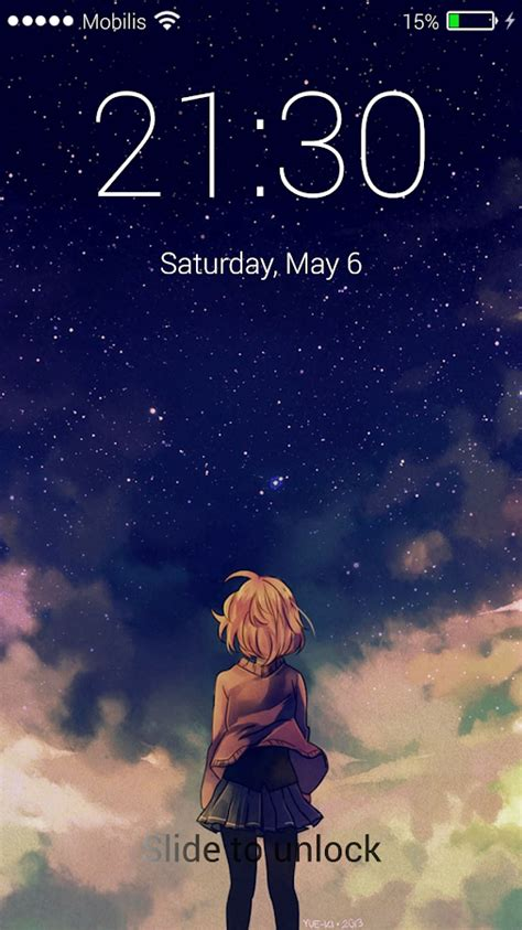 lock screen wallpaper android anime anime lock screen wallpaper android apps on google play