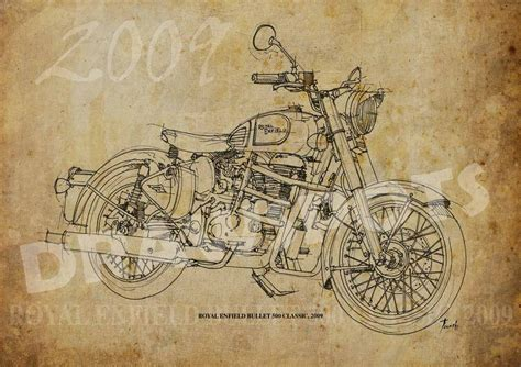 bead shop enfield royal enfield bullet 500 classic 2009 8x11in to 60x42in based