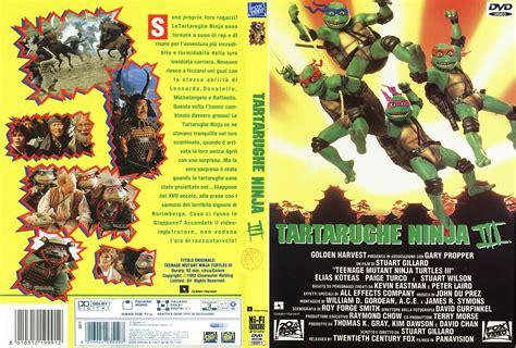tartarughe ninja film uscita dvd copertina dvd tartarughe ninja 3 cover dvd tartarughe