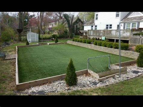backyard turf how to make a backyard artificial turf field youtube