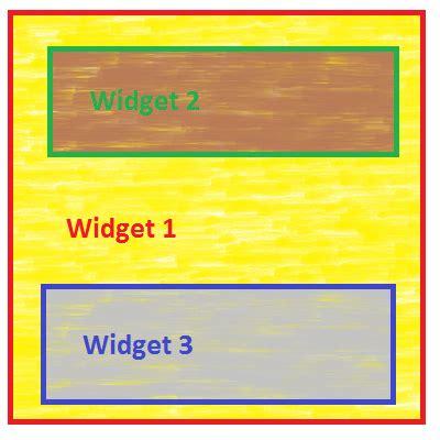 qt layout css qt widget layout background